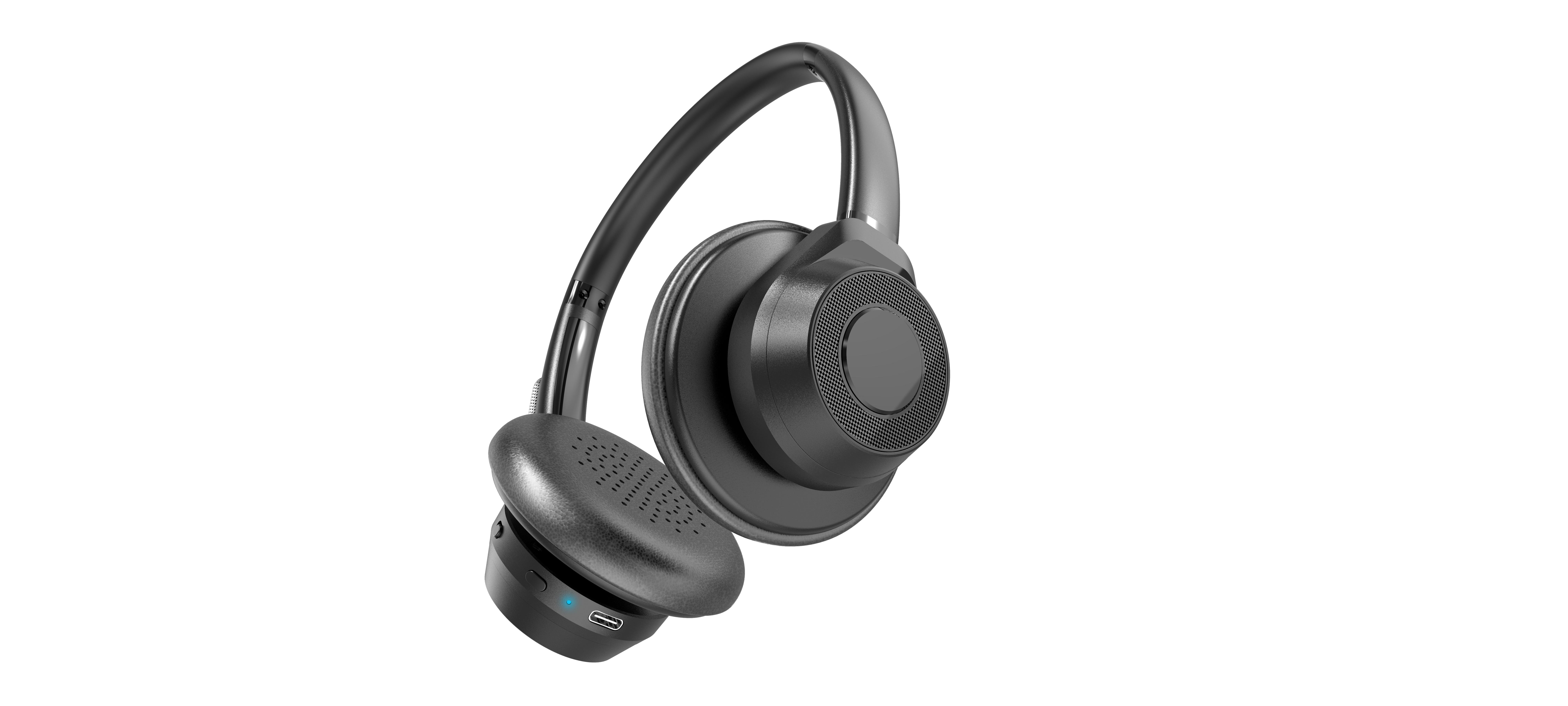 happyset Profi - Bluetooth Headset mit Bügel für Videokonferenz Telefonieren Online-Seminare Handy
