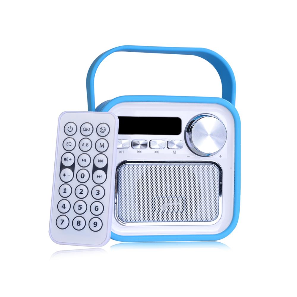 Bluetooth Lautsprecher in Blau fürs Büro Küche Bad oder unterwegs